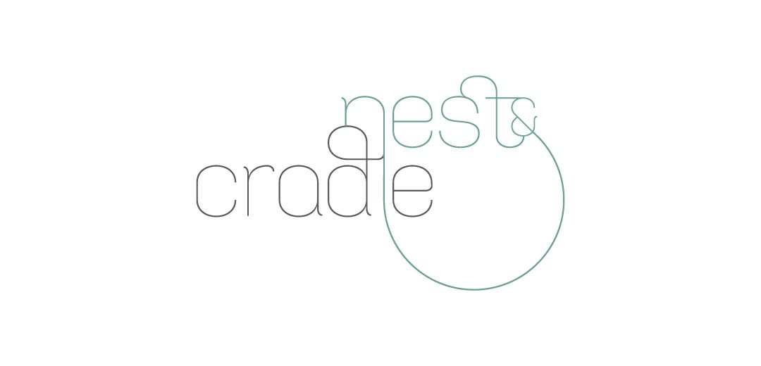 Nest and Cradle Logo by Meade Design Group