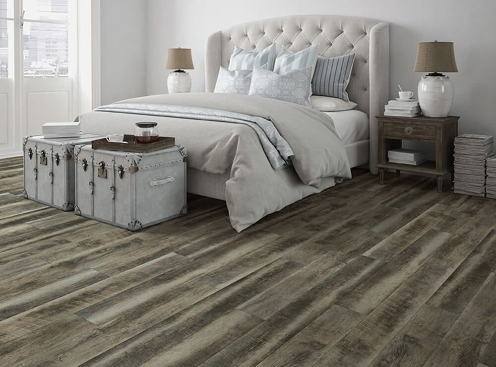 Odessa Grey Driftwood Vv031 00654 Evp Vinyl Wood Flooring Coretec Vinyl Flooring Best Neutral Paint Colors Grey Vinyl Flooring