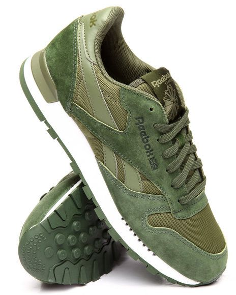 reebok classic leather clip mens trainers
