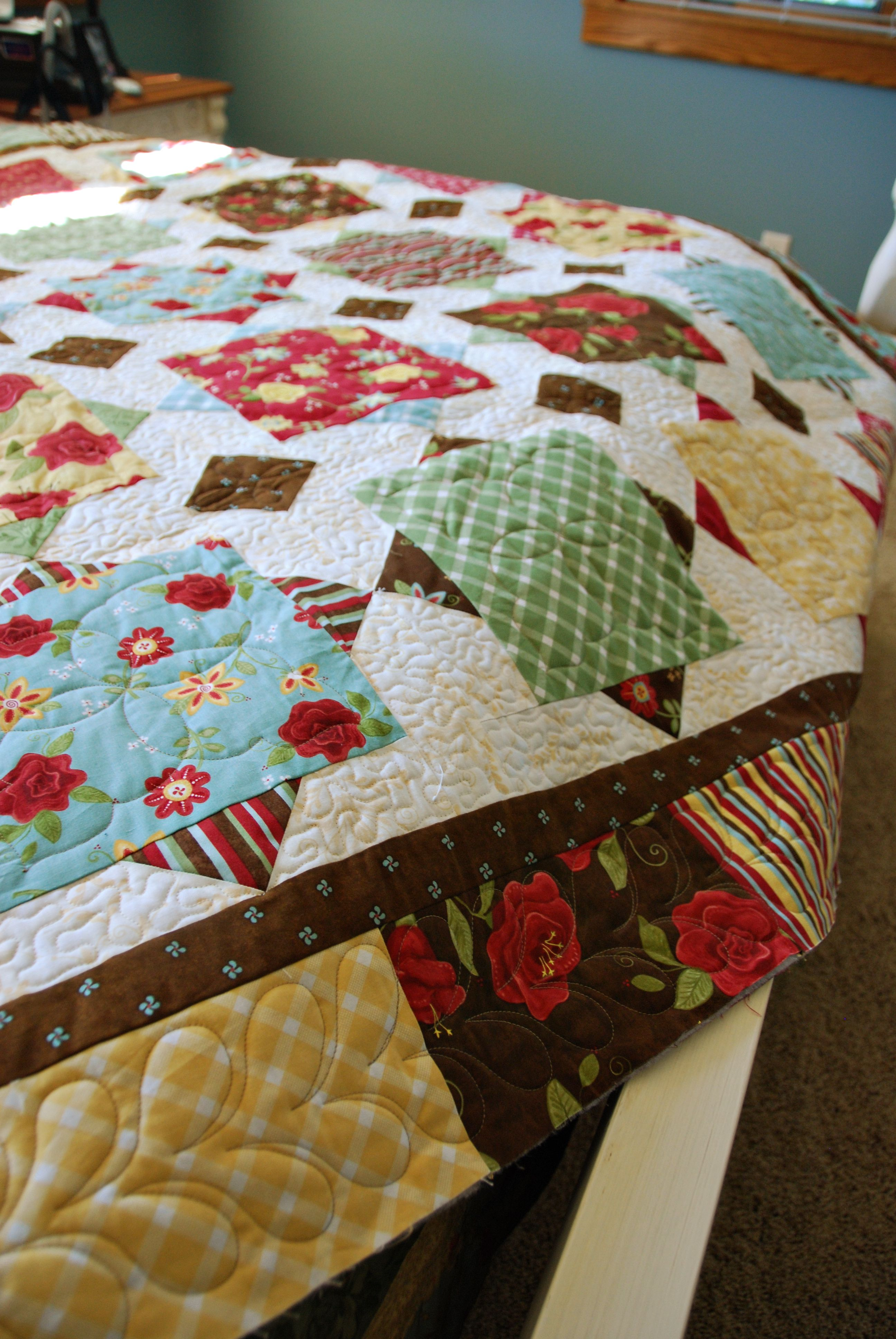 Simple quilt | Sewing Projects | Pinterest | Colchas y Manta