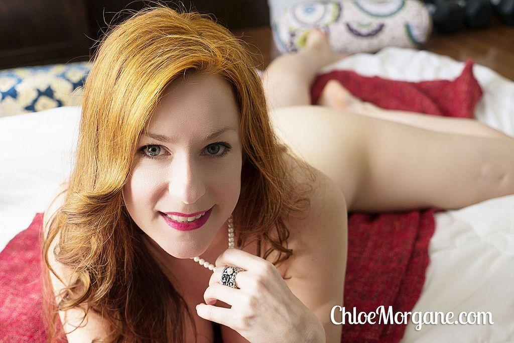 Hot redhead mom accidental
