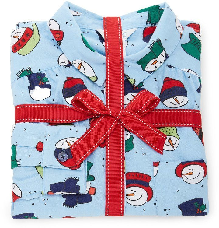 Sleep Sense Snowmen Flannel Pajamas  427345a74