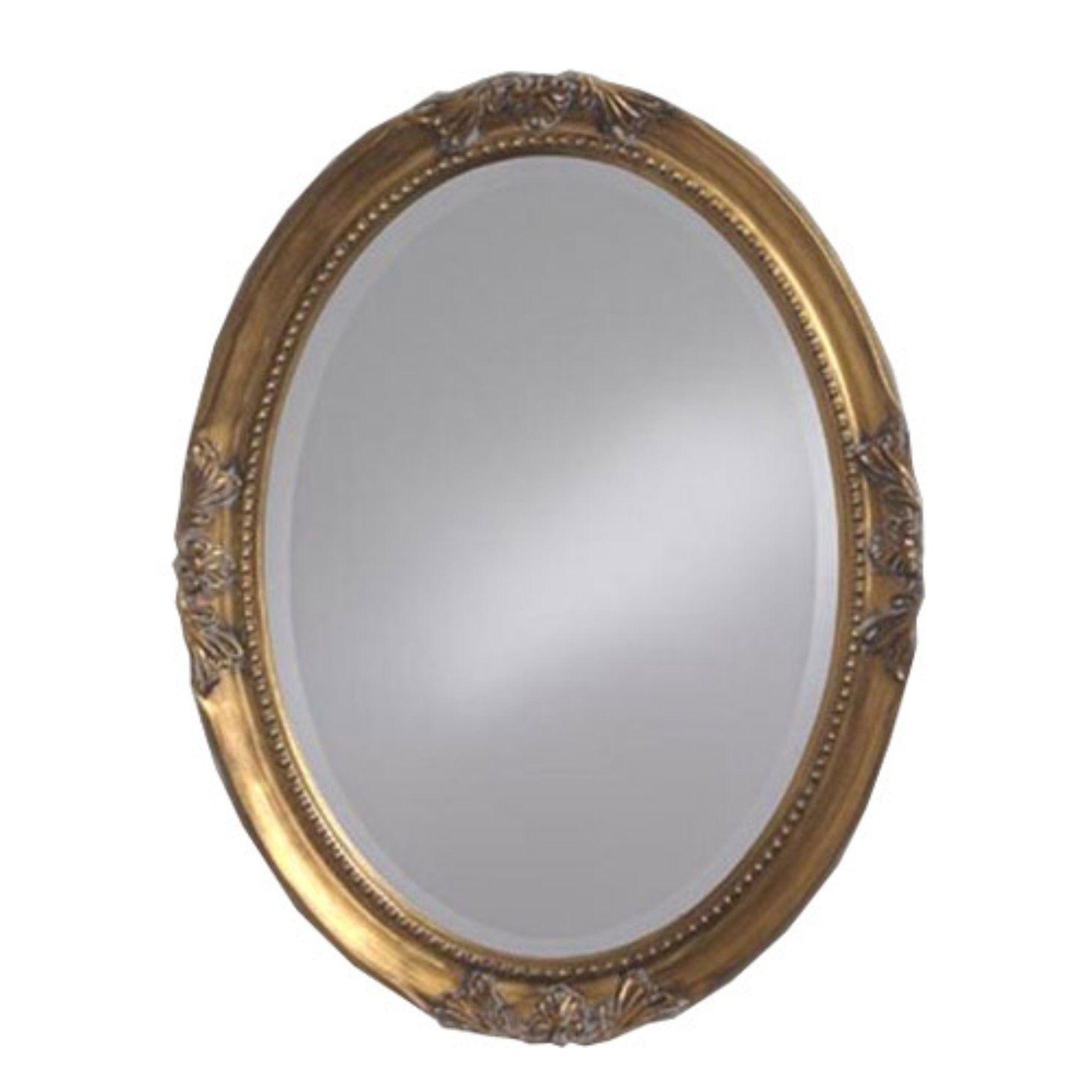 Elizabeth Austin Queen Anne Oval Vanity Mirror 25W x 33H in. - 4015 ...