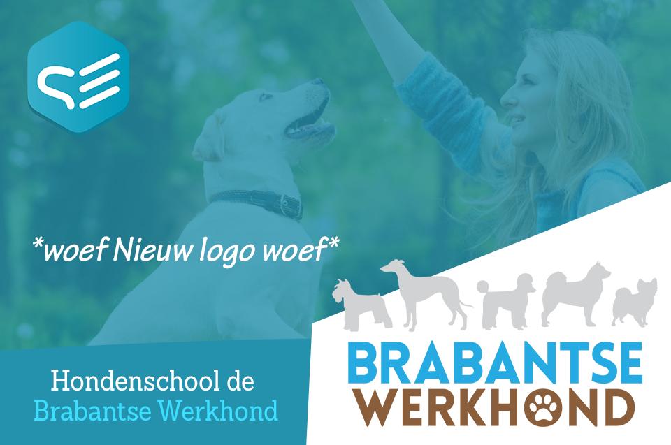 Een schitterend nieuw logo voor Hondenschool de BrabantseWerkhond door Samendrie. Ook samenwerken? Ga naar www.samendrie.n!