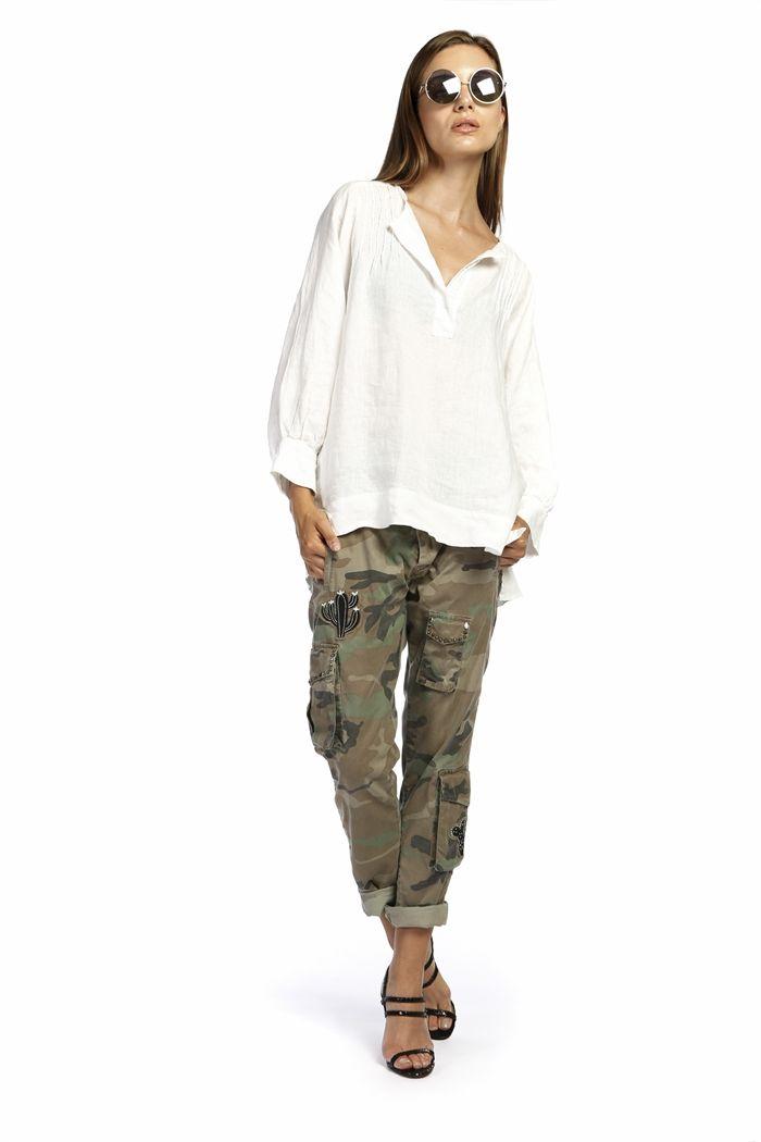 lino Donna Mason's Mason's in woman Victoria Mason's Camicia TPB4SI4F