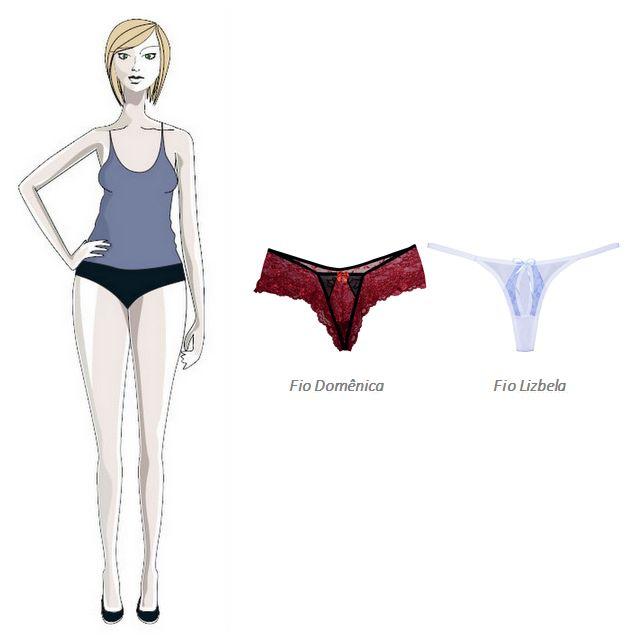 b6c6f8f6b Qual a lingerie certa para cada tipo de corpo