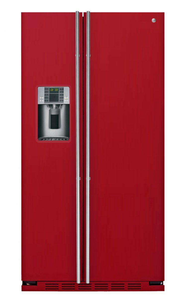 RCE 24 VGF 3R Rot - General Electric Kuehlschrank - Farbe Türen ...