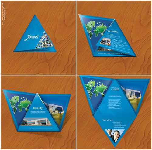 Xceed Brochure Print Inspiration #PrintMarketing