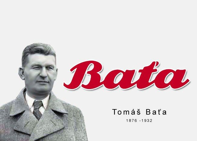 Tomáš Baťa ...  Tomáš Baťa zanechal celému svetu príklad, ako by mal konať, premýšľať a žiť skutočný podnikateľ. Jeho fabriky na konci 30. rokov minulého storočia zamestnávali v Československu 42 tisíc ľudí a každý rok predávali