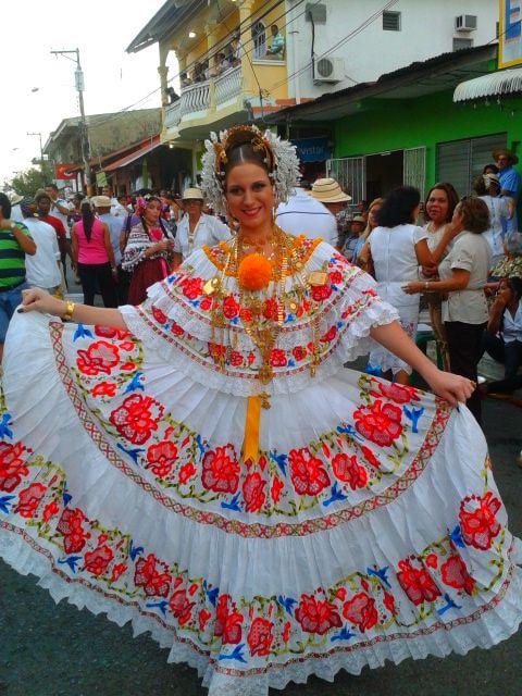Pollera Vestimenta Tipica De Panama Polleras Panamenas