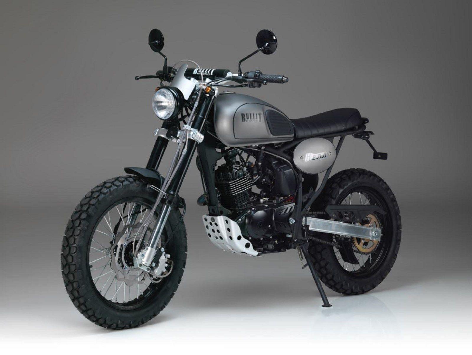 La Nouvelle Bullit Héro 125cc Moto Scrambler Motorcycle