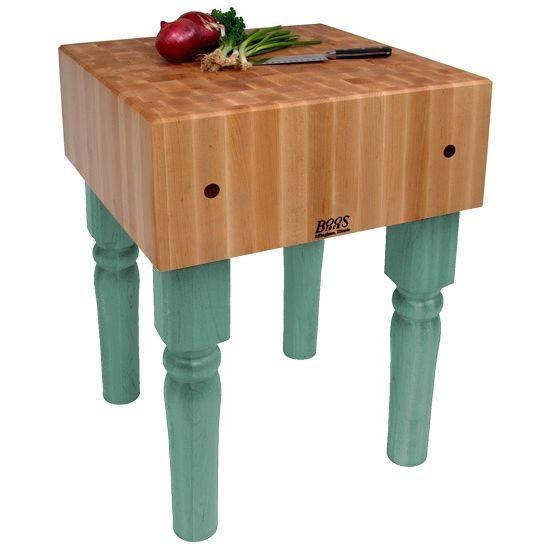 john boos ab 10 maple butcher block table island 30 x 30 x 34 in rh pinterest com