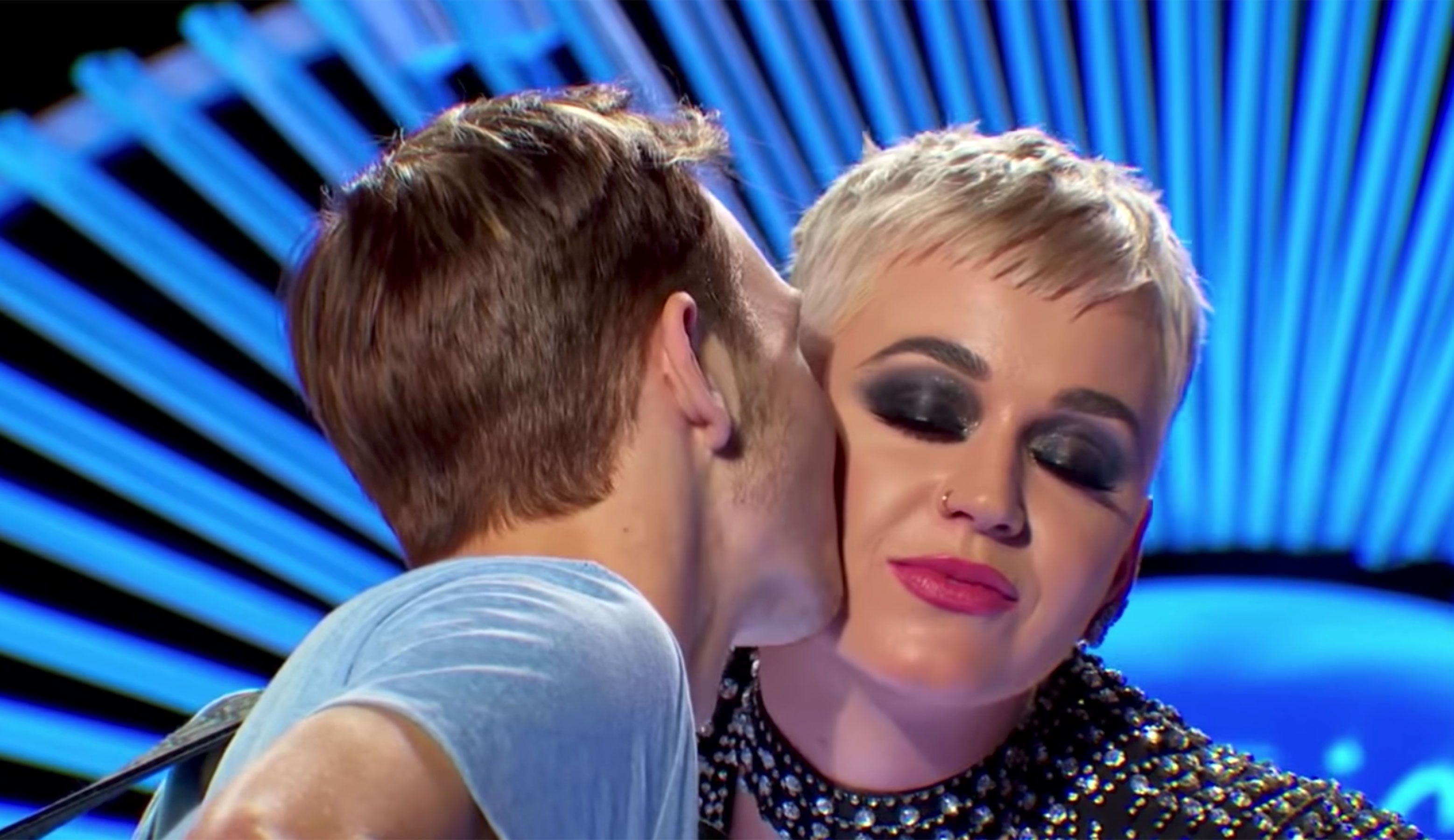 Surprise Katy Perry Gives 19 Year Old American Idol Contestant