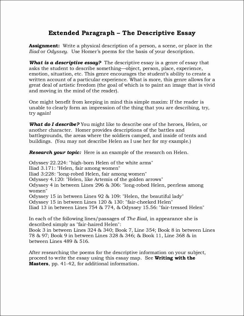 30 Descriptive Narrative Essay Example Murilloelfruto Of Description About Yourself A Person