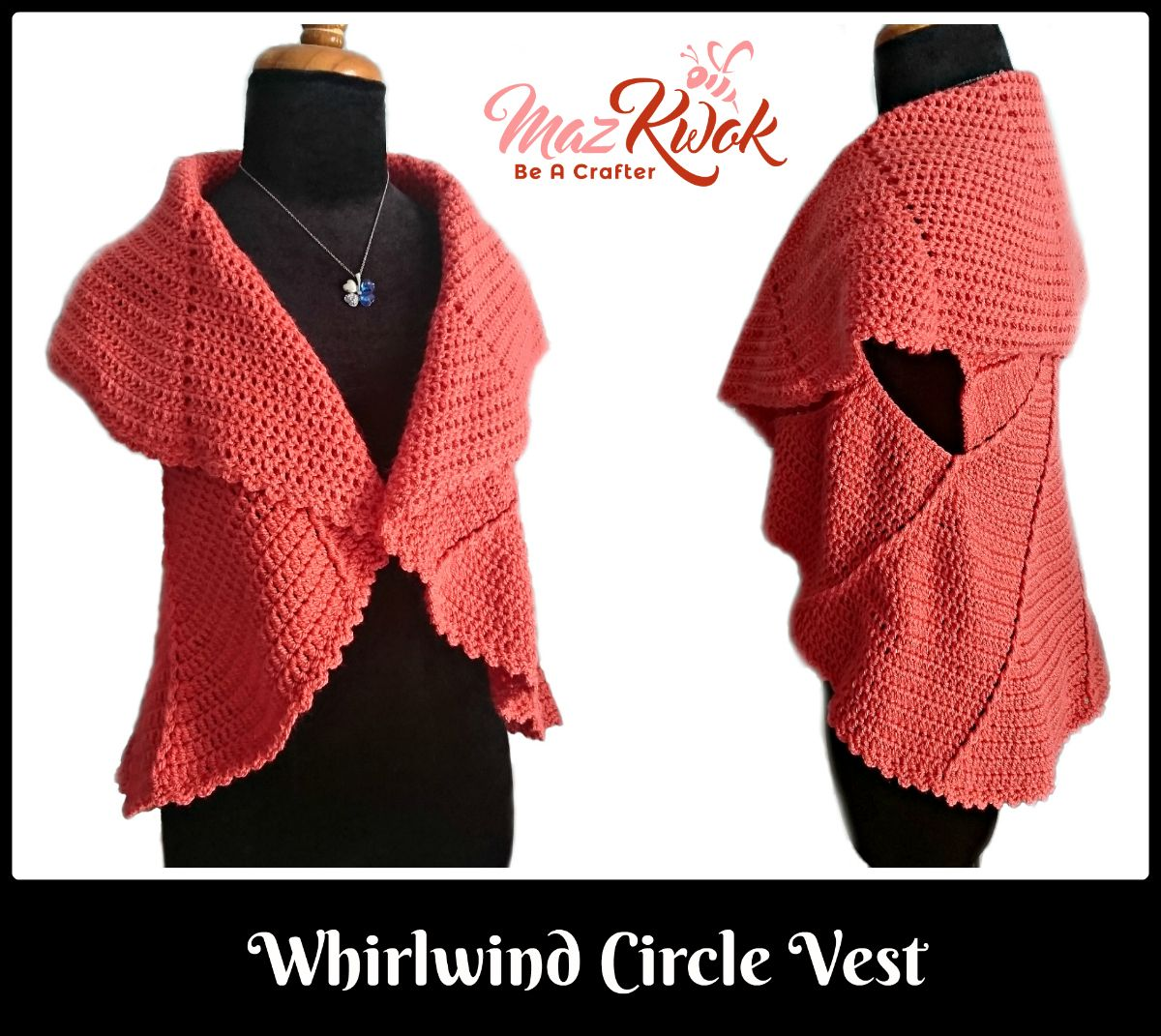 Crochet circle vest crochet whirlwind circle vest crochet circle crochet circle vest crochet whirlwind circle vest crochet circle vest free patterncrochet bankloansurffo Choice Image