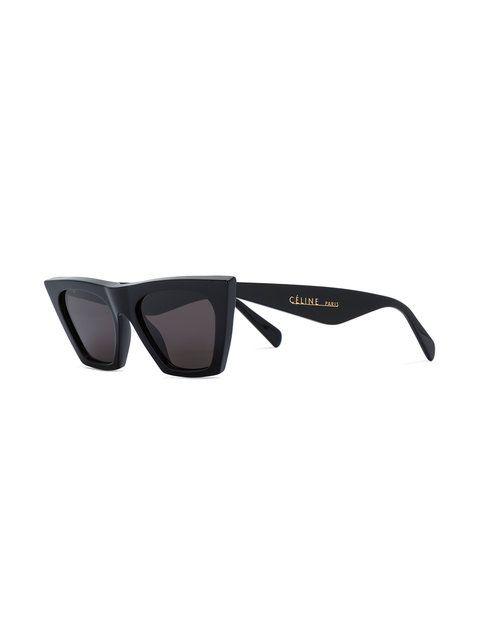 1e05442e40217c Céline Eyewear lunettes de soleil Edge   Sunglasses   Sunglasses ...
