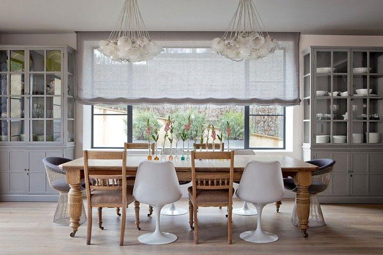 meuble salle à manger moderne et éclectique de style scandinave et ...