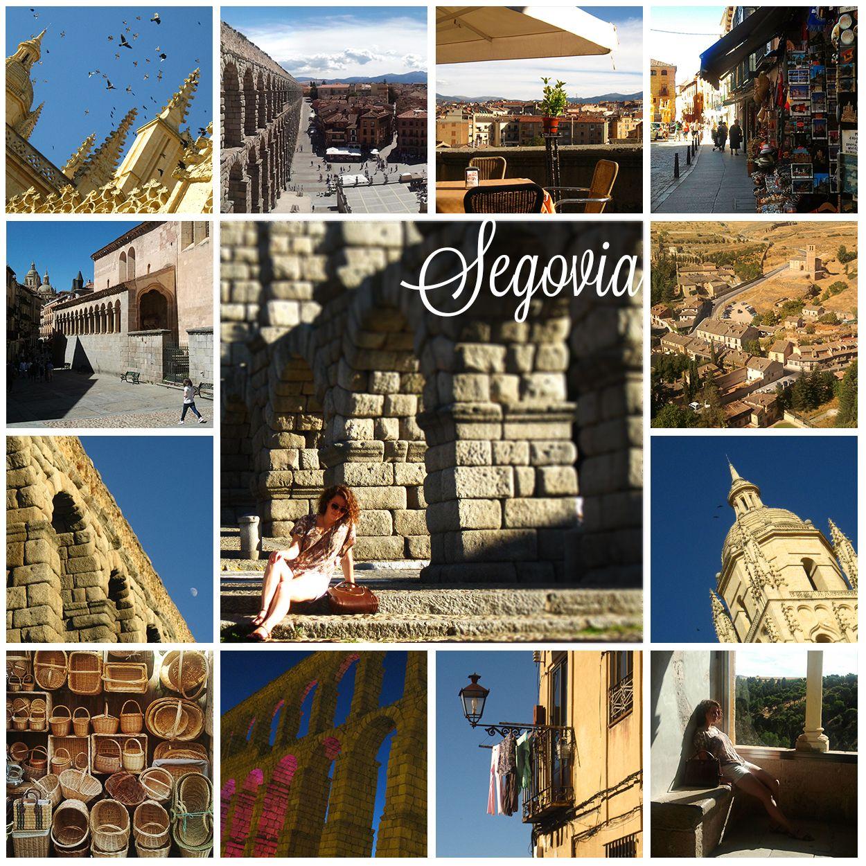 Segovia, Spain. Photo tiles mosaic. ANIA W PODRÓŻY travel blog and photography