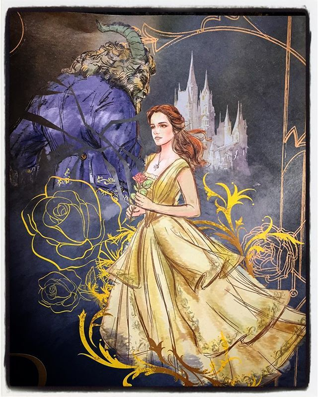 Pin By John Hulsey On Beauty And The Beast 2017 Beauty And The Beast Art Disney Art Beauty And The Beast