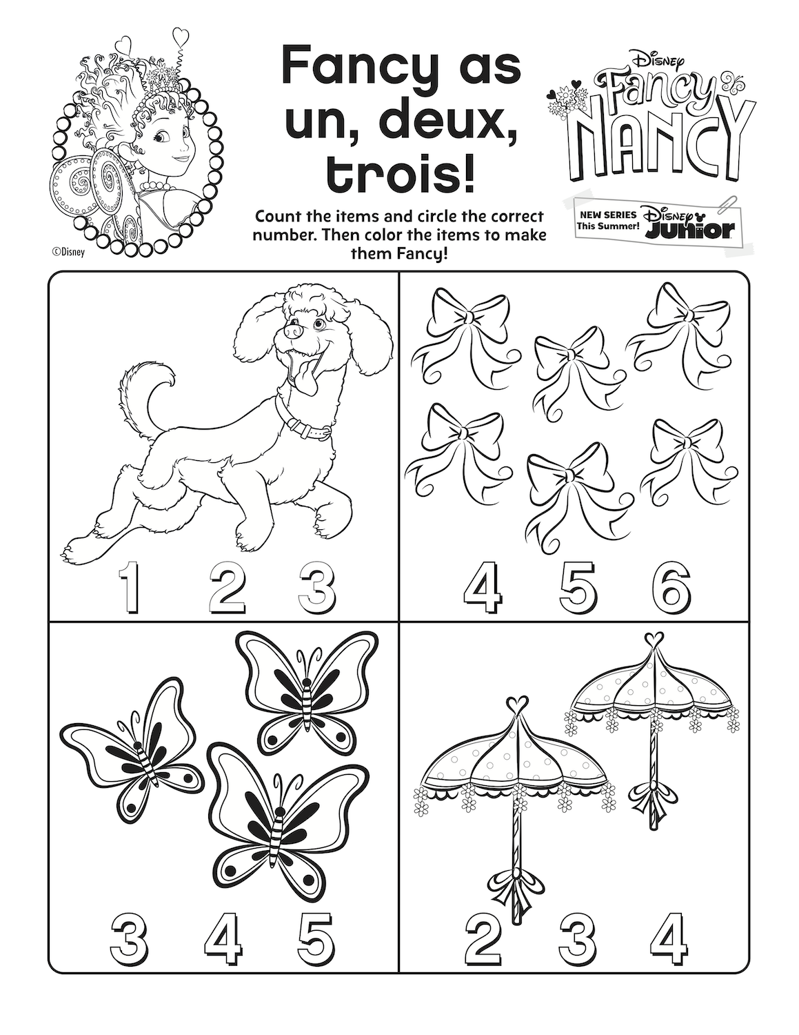 Fancy Nancy Printable Activity Come See Our Wonderful Page Of Free Fancy Nancy Printables Fancy Nancy Fancy Nancy Party Fancy Nancy Clancy [ 1500 x 1159 Pixel ]