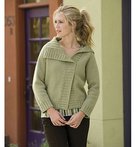 Offset Raglan Knit Sweater Pattern Yarn Obsession Pinterest