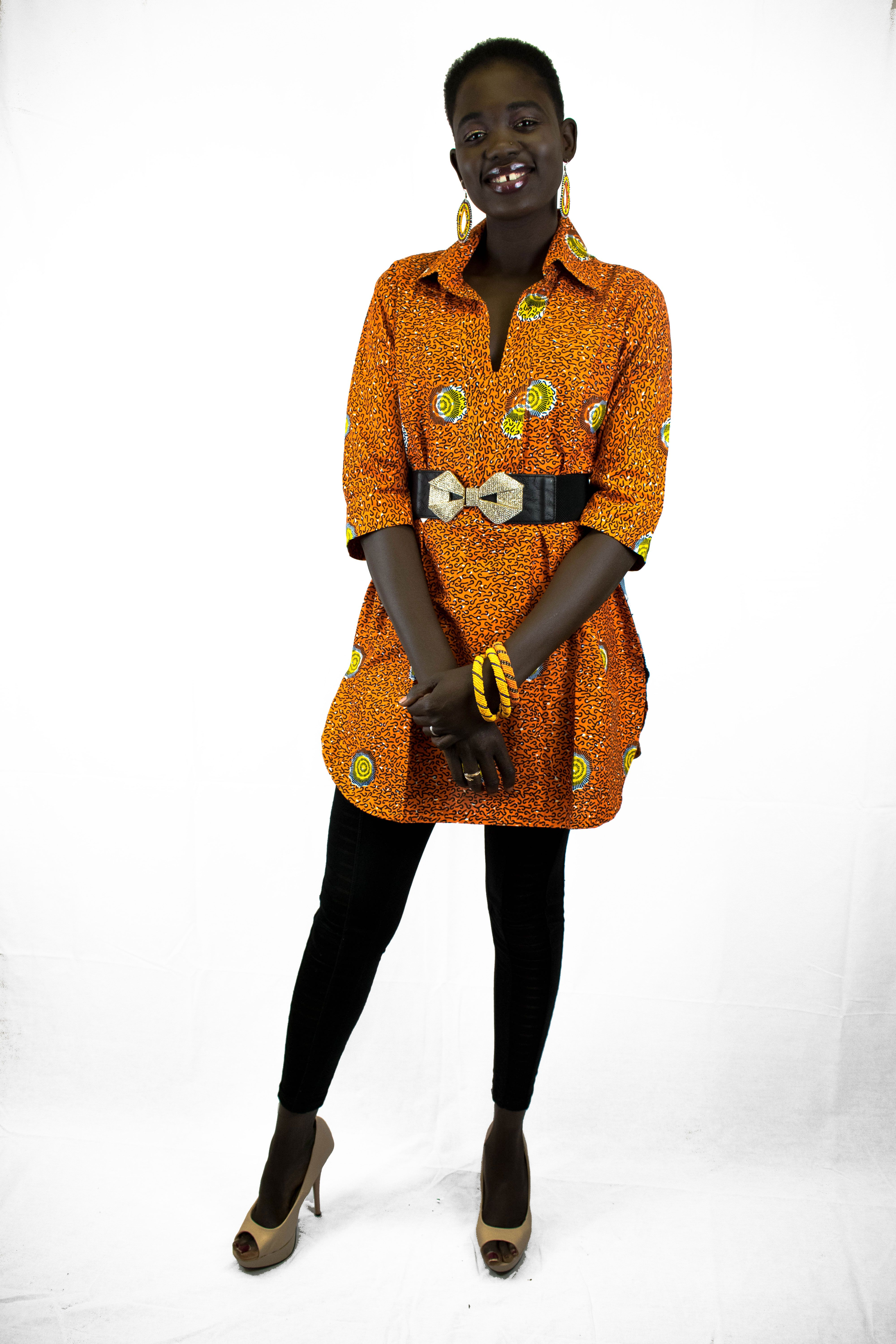 The ankara fabric is much beloved in this part of the world i mean