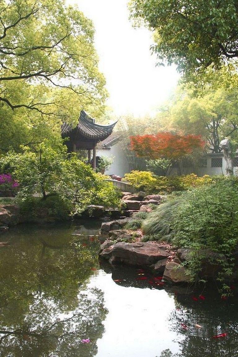 33+ Beautiful Backyard Gardening Ideas With Chinese Style | Chinese garden, China garden, Backyard garden