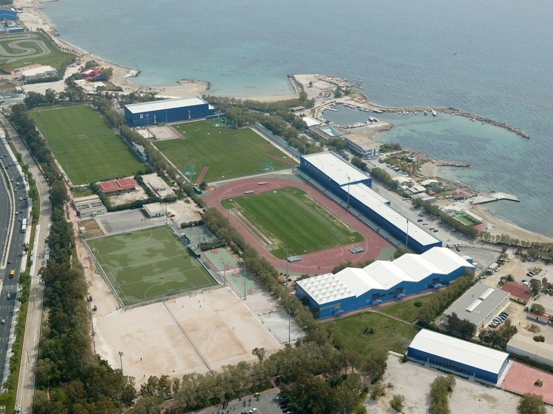 Agios Kosmas Sports Center is located in the southern
