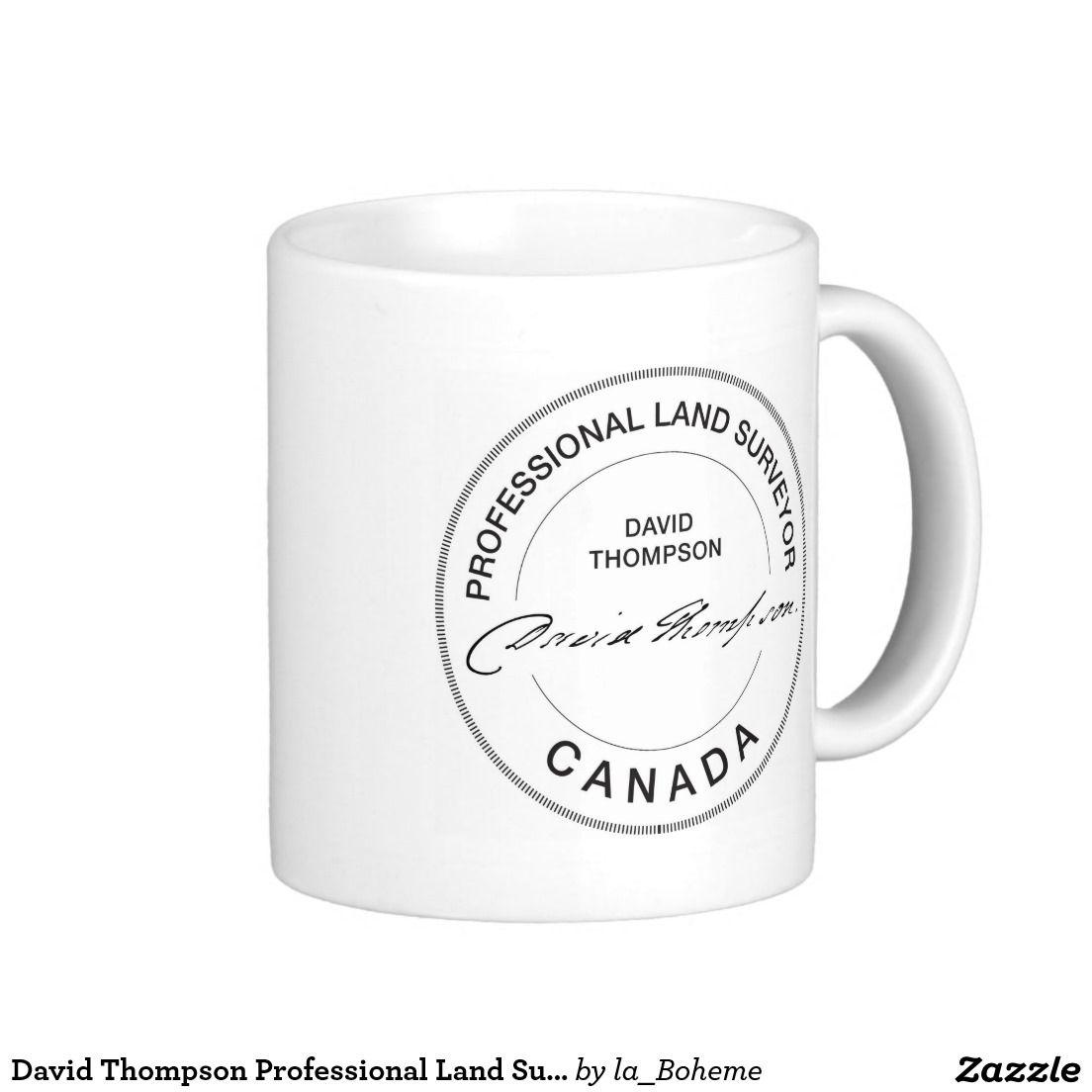 David Thompson Professional Land Surveyor Canada Classic
