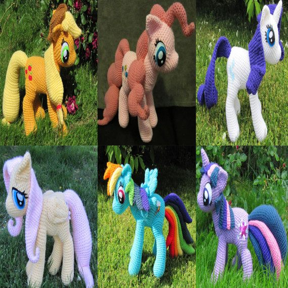 Not free My Little Ponies Pattern PDF-Angela Butler we might need this