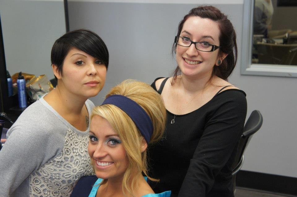 Underground Salon In Long Beach, CA--Team ONE Nicole Terrones-Catian, Kd Hernandez, Stephanie