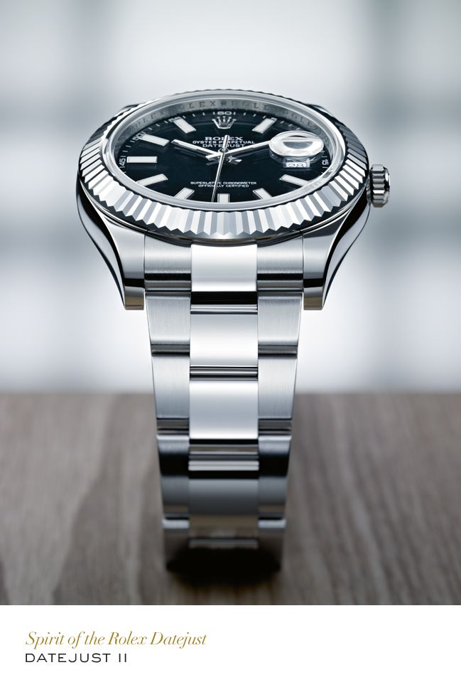 rolex datejust ii 41mm in 904l steel and white gold with a. Black Bedroom Furniture Sets. Home Design Ideas