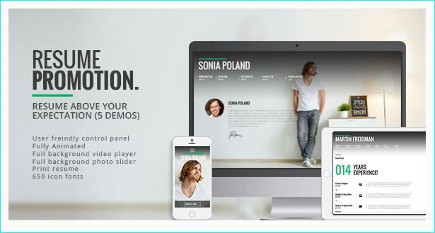 Wordpress Resume Theme 25 Modern Cvresume WordPress Themes  25 Modern Cvresume .