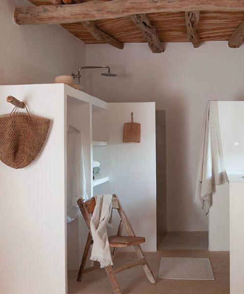 Serviette éponge style Hammam couleur craie | bathrooms | Deco salle ...