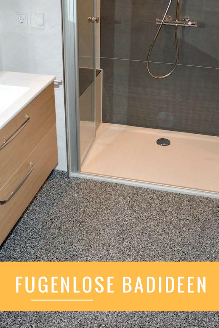 Anspruchsvoll Bad Bodenbelag Beste Wahl Fugenloses Design Auch Im Bad, Sauber Und