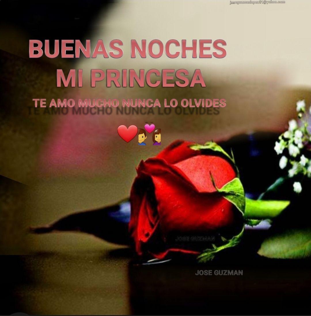 Buenas Noches Mi Princesa Buenas Noches Buenas Noches