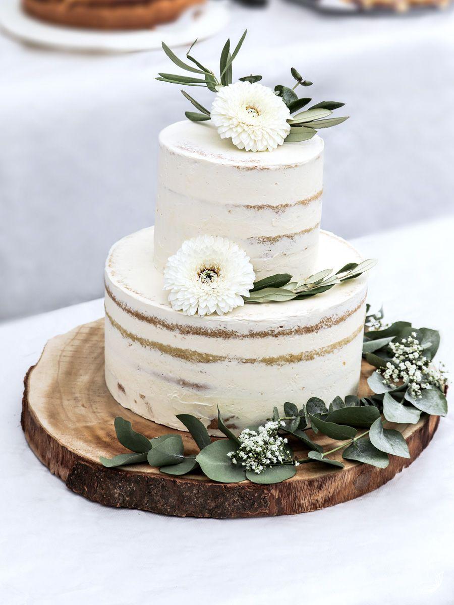 Naked Cake Rezept - einfach & wunderschön