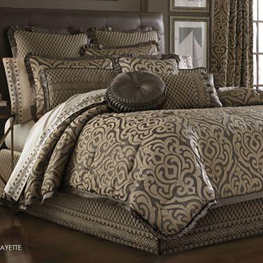 Queen Street Lafayette Comforter Set Accessories Jcpenney