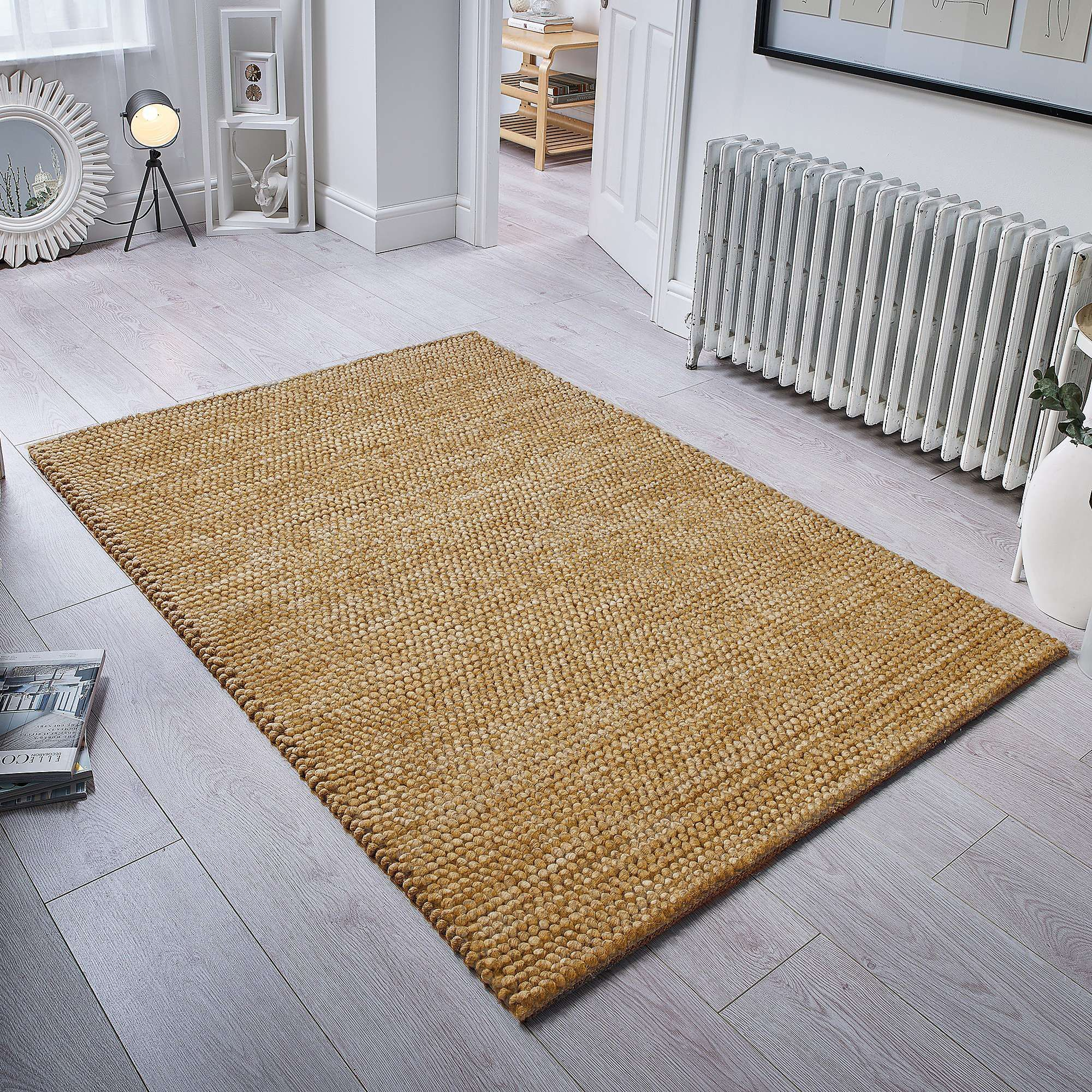 Pebble Wool Rug Dunelm With Images
