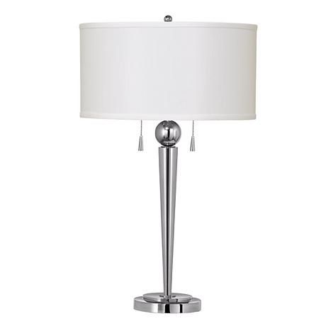 Table Lamp Metal Lamps, Twin Pull Chain Table Lamp