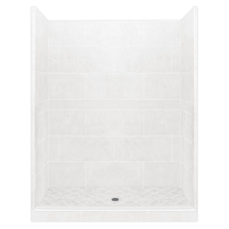 American Bath Factory Monterey Light 22 Piece Alcove Shower Kit