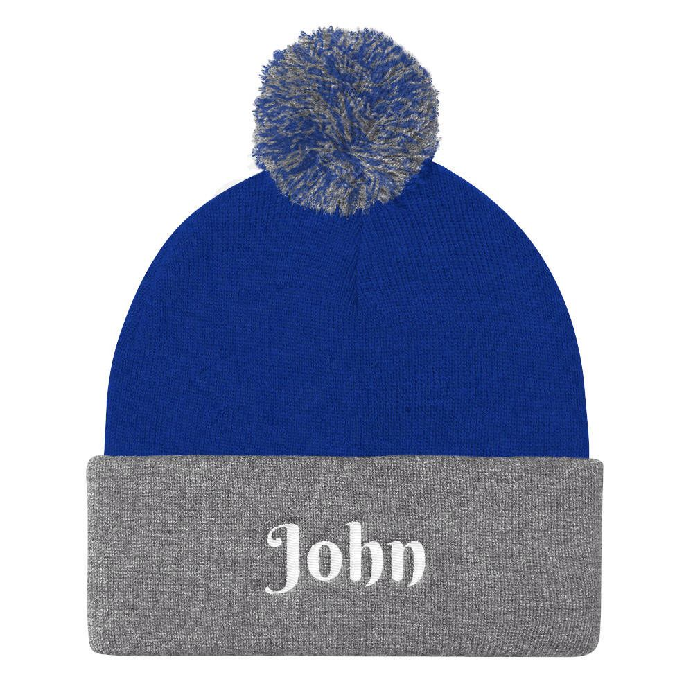 Personalized Winter Hat - The Project Nursery Shop