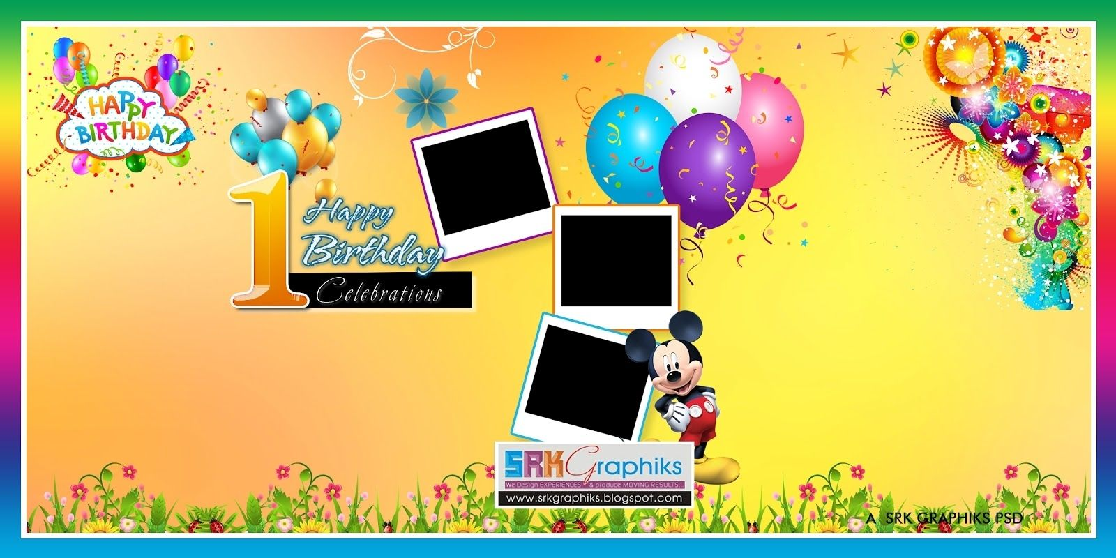 Birthday Flex Banner Background Design Birthday Banner Design