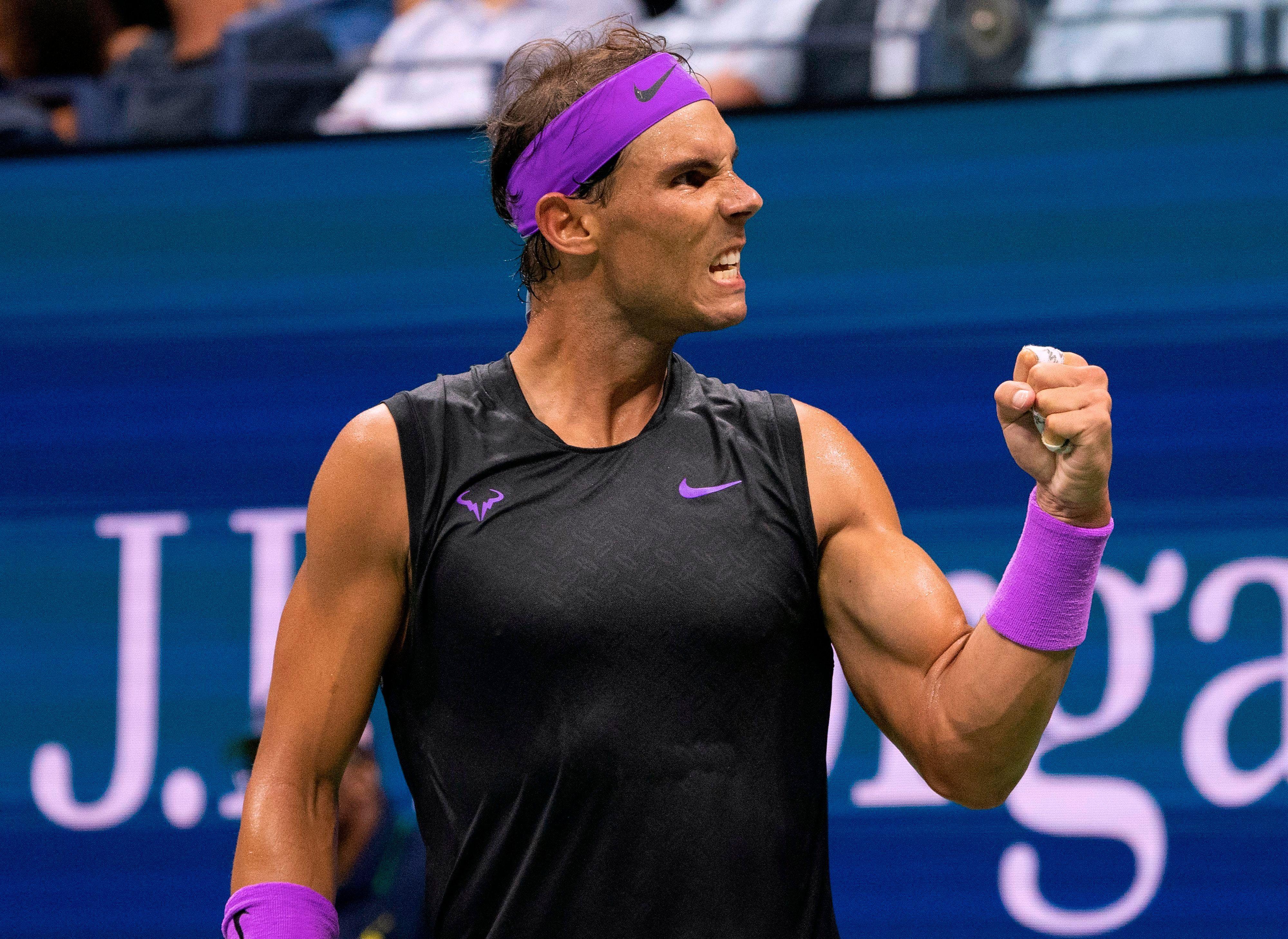 2019 Us Open Qf Rafael Nadal Vs Diego Schwartzman Rafa Nadal Rafael Nadal Tennis Champion