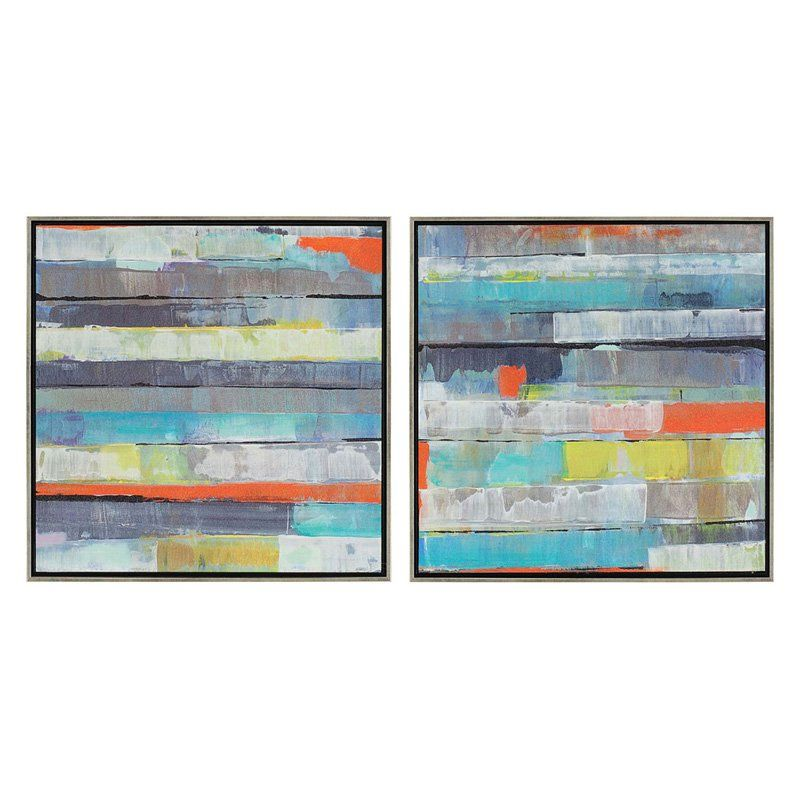 Paragon Decor Metro Framed Wall Art - Set of 2 - 7313 | Products ...