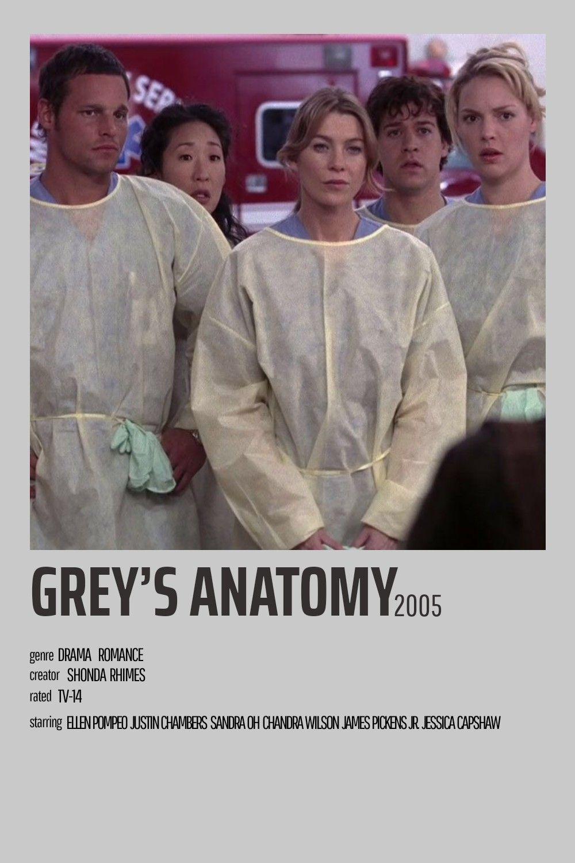 alternative tv show posters // grey's anatomy