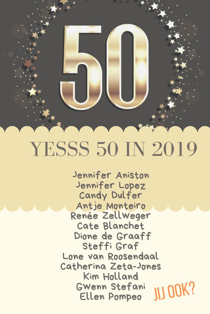 Spiksplinternieuw verjaardag 50 jaar - Sarah - Abraham - cadeau | 50ste verjaardag GA-56