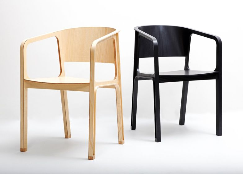 The structure of this lightweight plywood chair by Eric and Johnny ...