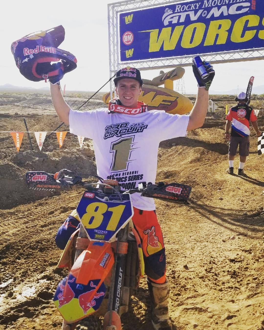buy popular 890cf daee2 ... with the crowning of  reddiciotto as the 2018  worcsracing champion!!  Help us congratulate him!! Source IG  procircuit78  motocross  super  dirt   bike