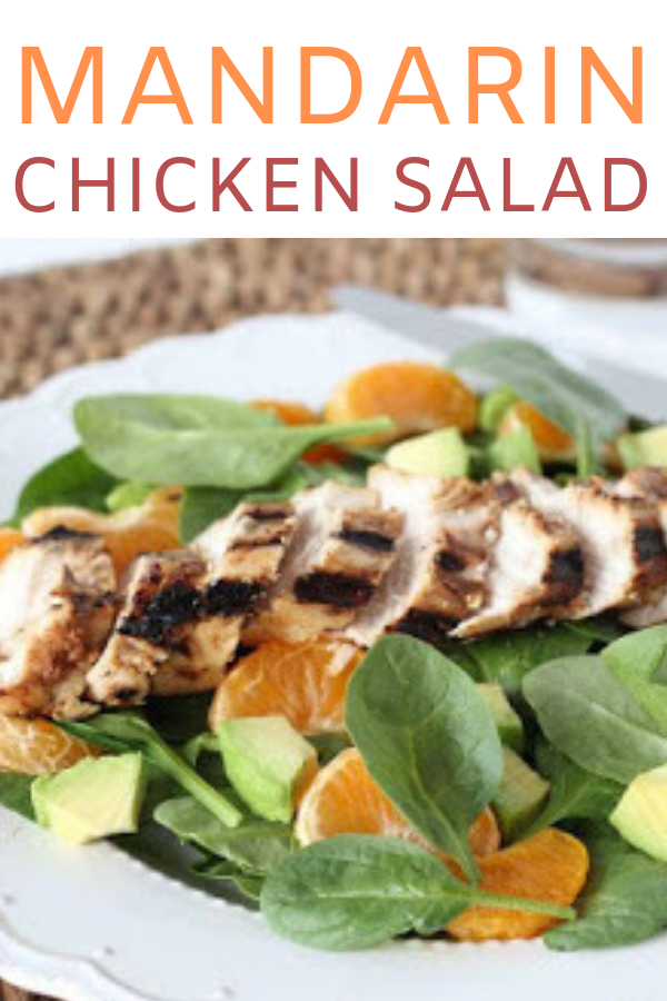 MANDARIN CHICKEN SALAD #chickenbreastrecipeseasy